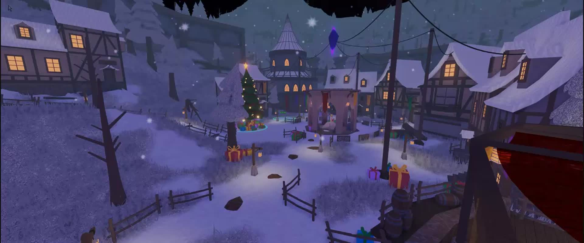 Roblox Dungeon Quest Excalibur Purple Stone Artstation Christmas Town Black Smith