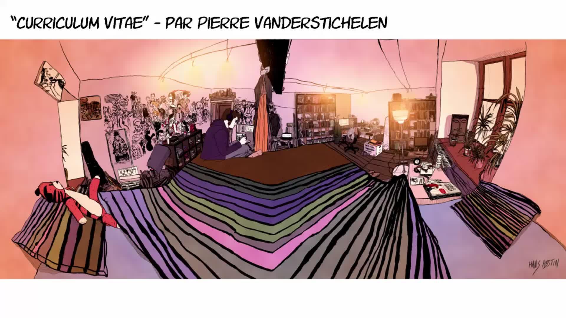 Cover Letter And Resume Motion Design And Comics Pierre Vanderstichelen Artstation